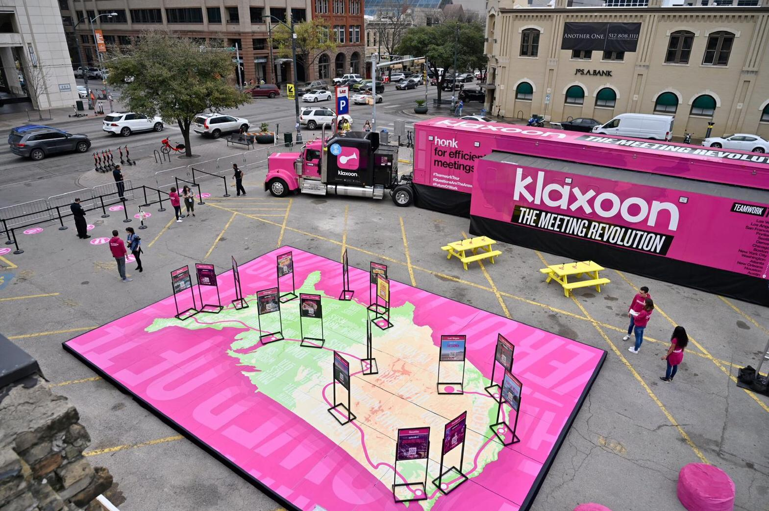Klaxoon, la révolution des réunions à SXSW, la force du travail d'équipe